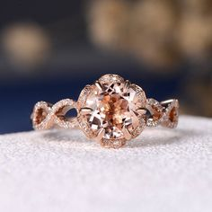 Engagement Rings Sale, Engagement Ring Shapes, Beautiful Engagement Rings, Rose Gold Engagement Ring, Vintage Engagement Rings, Halo Engagement, Flower Shaped Engagement Ring, Wedding Rings Simple, Wedding Rings Solitaire