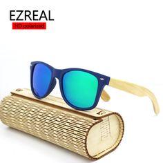 850bfab8469d3  SCOBER  Retro Trend Bamboo Wooden handmade frame Unisex polarized  sunglasses Mirror Coated UV400 sun