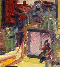 Frank Auerbach: 'Next Door', at Marlborough, 12 October - 10 November 2012 This is his view of the world and the streets Frank Auerbach, Pictures To Paint, Contemporary Paintings, Abstract Expressionism, Painting Inspiration, Landscape Paintings, Pop Art, Street Art, 12 October