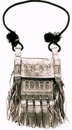 ☮ American Hippie Bohemian Style ~ Boho Fringe Bag!