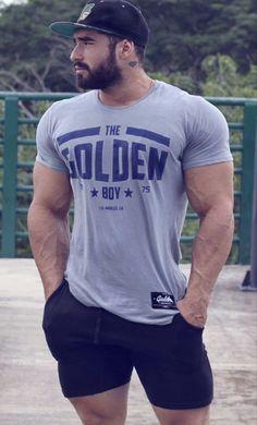 Hairy Men, Bearded Men, Sport Outfit, Gym Body, Beefy Men, Ideal Man, Muscle Hunks, Raining Men, Muscular Men