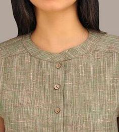 Order contact my WhatsApp number 7874133176 green Khadi Short-Kurta Chudidhar Neck Designs, Salwar Neck Designs, Churidar Designs, Kurta Neck Design, Neck Designs For Suits, Neckline Designs, Kurta Designs Women, Dress Neck Designs, Designs For Dresses