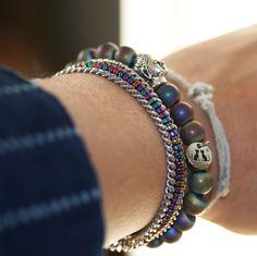 NEW Bracelet by LeChatVIVI BERLIN® #buddha #lechatvivi #miami #bracelet #rainbow