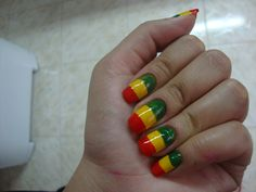 Reggae Baby Nail Art Gallery By Nails Magazine Nailart Best Of