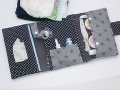 Windeltaschen - *Supreme* Windeltasche -->3 Fächer ALLES dabei! - ein Designerstück von Fareimli-handmade bei DaWanda