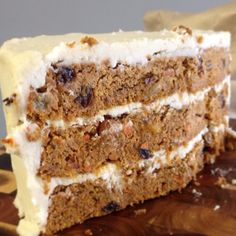 Carrot Cake, anyone? By the slice in the store, but Chef Greg takes special orders for whole cakes. #paleo #glutenfree #glutenfreeinSTL #paleoinSTL #grainfree #vegan #vegetarian #thehotpot
