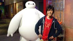 Baymax & Hiro! Big Hero 6 LIVE at Walt Disney World Character Meet & Greet