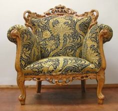 From GDUKStyle.com Reloved (now Upcycled) feature: William Morris Chair £1,125 from www.polliander.com
