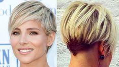 Hairstyles ~ New Blonde Short