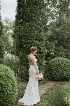 Our lovely bride Isabela.  #OtiliaBrailoiuAtelier #weddingdress