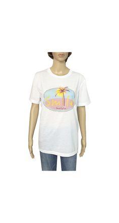 "Camiseta ""Smile"" Smartyfun #beach #smile #palm #original #palmera #sonrisa"