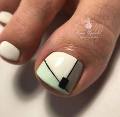 Toe Nail Designs, Pedicures, Toe Nails, Fingers, Nail Art, Beauty, Ideas, Work Nails, Polish Nails