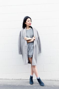 PERSONAL STYLE POST: Connie does minimalism!     See more on: http://www.kisforkani.com/2015/08/happily-grey/