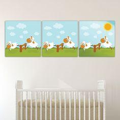 Παιδικοί πίνακες σε καμβά Προβατάκια Toddler Bed, Baby, Furniture, Home Decor, Child Bed, Decoration Home, Room Decor, Newborns, Home Furniture