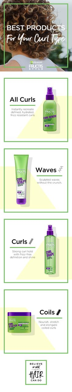 These products will have you making waves, curls and hair goals. Instantly redefine natural curls without weighing them down, with Curl Renew Reactivating Milk Spray. Get soft, natural waves without the crunch with Curl Stretch Loosening Pudding. And softly control and condition curls with our uniquely formulated Curl Sculpt Conditioning Cream Gel.