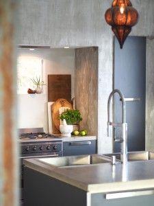 Blogg — by Rust Concrete Kitchen, Rust, Scandinavian, Kitchens, Sink, Table, Furniture, Design, Home Decor