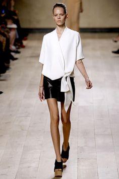 Céline Spring 2010 Ready-to-Wear Fashion Show - Freja Beha Erichsen