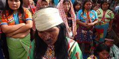 Miembros de la comunidad embera katios.