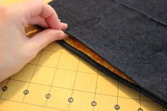 Learn how to sew a side seam pocket to your handmade garments, or add pockets to your off-the-rack clothing, with this quick and simple tutorial.