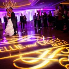 A monogram can do so much for your first dance photos!