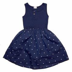 VESTIDO BUHO punto y algodón Descubre más ropa para niñas en www.yosolito.es/tienda