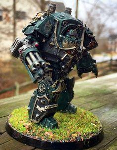 https://flic.kr/p/qKN2TY | Sons of Horus legion Contemptor Dreadnought
