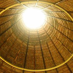 Tropical Suita roof with Bambu  structure