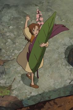 The Secret World of Arrietty - Studio Ghibli. Brings back so many memories...