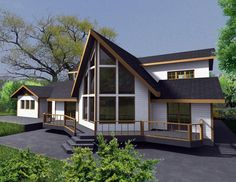 Elevation of House Plan 85334
