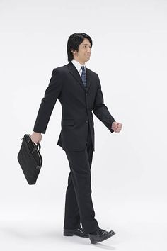 Young businessman walking, holding briefcase, white background People Cutout, Entourage, Figure Drawing, Briefcase, Shanghai, Walking, Photoshop, Silhouette, In This Moment