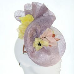 Lavender Lovely Hat mix flowers_BE 0456