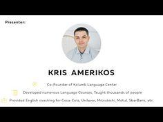 English with Kris Amerikos Live Stream