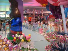 Dylan's Candy Bar in New York. We did work for this company. Love the experience.