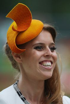 Princess Beatrice, June 19, 2014 in Sarah Cant | Royal Hats....Ascot Day 3: Ladies' Day.....Posted on June 19, 2014 by HatQueen