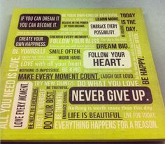 Here's some wise words to keep your energy during this busy work day! #nevergiveup  #ceteramarketing