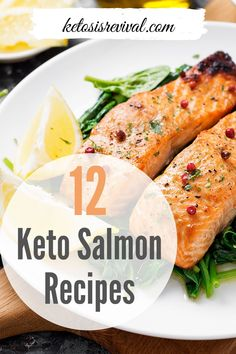 Try these amazingly easy keto salmon recipes now! Be captivated by these low-carb recipes and make these ketogenic salmon meals guilt-free. Catch the recipes on this pin! Salmon Meals, Keto Salmon, Baked Salmon Recipes, Salmon Dinner, Seafood Recipes, Side Dishes For Bbq, Keto Side Dishes, Keto On The Go, Low Carb Recipes
