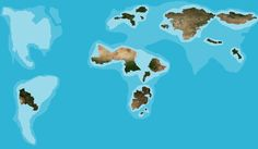 If only landlocked countries existed. | 22 Perfect Maps Of Places That Don't Actually Exist