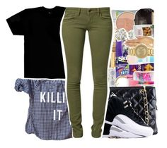 """""""Killin' It"""" by beautifulme078 ❤ liked on Polyvore featuring October's Very Own, Chanel, Humör, TAXI and Mavi"""
