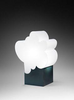 Guy de Rougemont . lampe nuage, 1970s