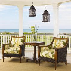 Swivel counter stools Bistro tables and Tommy bahama on