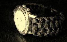 Spindle Fiber Bar Paracord Watchband