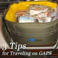 The thought of traveling while on the GAPS Diet can seem incredibly daunting. What food will be available? How will you make sure you're eating everything you need for your healing? How will you avoid foods that make you ill? Here's help! 3 Tips for Traveling on GAPS GNOWFGLINS.com