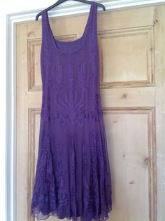 Purple Phase Eight Ribbon Dress Size 16 in Clothes, Shoes & Accessories, Women's Clothing, Dresses | eBay