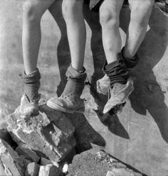 """joeinct:  """"Worn Out Shoes, Netherlands, Photo by Emmy Eugenie Andriesse, 1940s  """""""