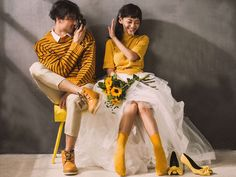 Korean Wedding Photography, Wedding Couple Poses Photography, Wedding Photography Poses, Wedding Portraits, Foto Wedding, Wedding Photo Albums, Wedding Pics, Pre Wedding Poses, Pre Wedding Photoshoot
