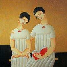 Картины в стиле арт-деко. Urszula Tekieli