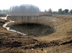 Ecco lo spazio che presto verrà riempito dall'acqua per completare #oxygen