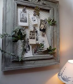 Love the foliage detailing!  ---  Painted Frames Design, Pictures, Remodel, Decor and Ideas - page 3