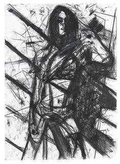 Courtesy Annet Gelink Gallery   Erik van Lieshout   Pinup, 2011 mixed media on paper   214 x 150 cm