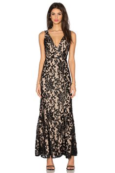 Lovers + Friends x REVOLVE Unforgettable Gown in Black